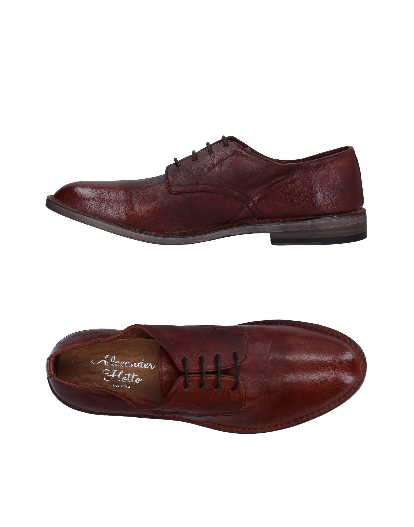 Rabatt echte Schuhe Alexander Hotto Schnürschuhe Herren  11332927KG