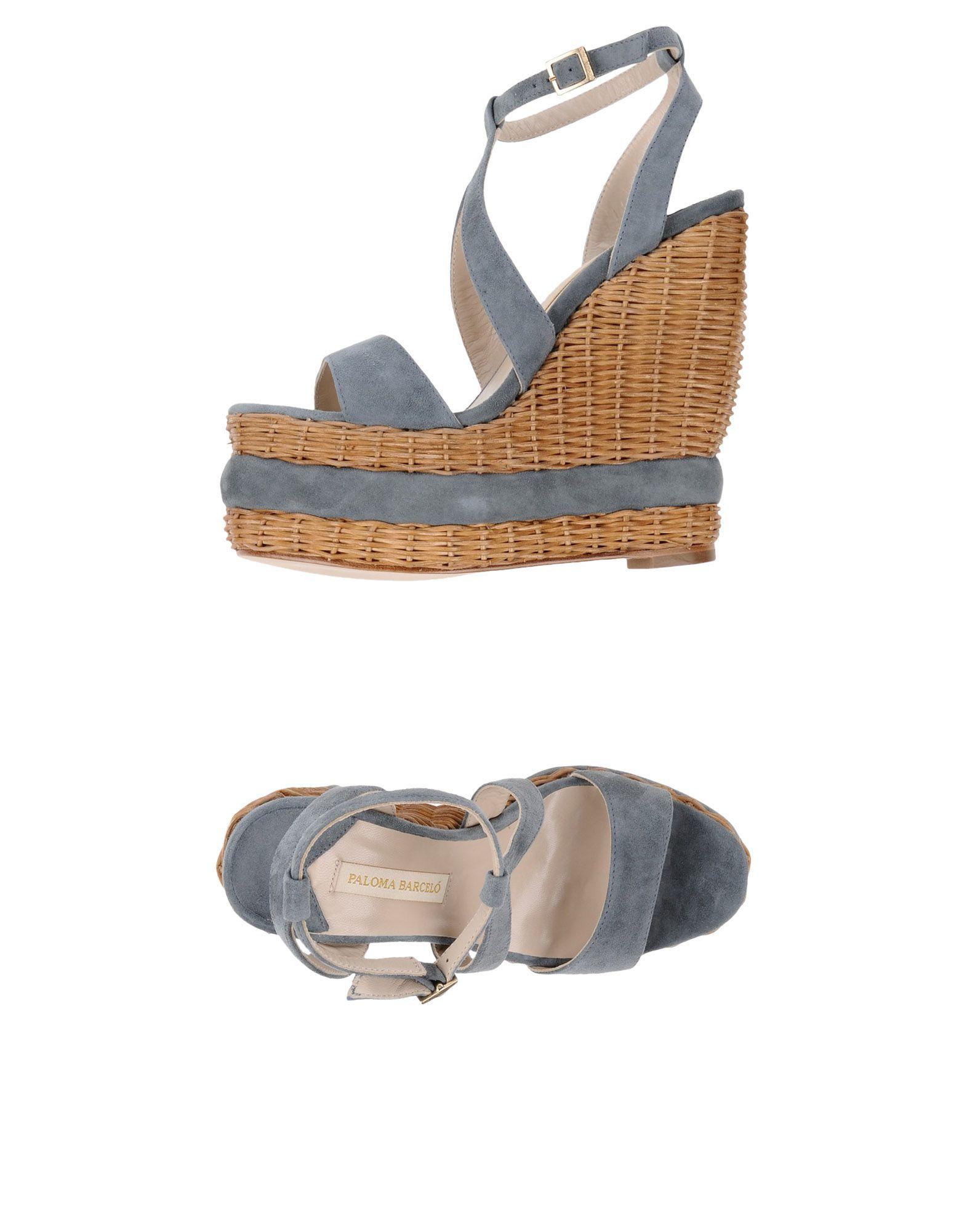 Stilvolle billige Schuhe Paloma Barceló Sandalen Damen  11333156ML
