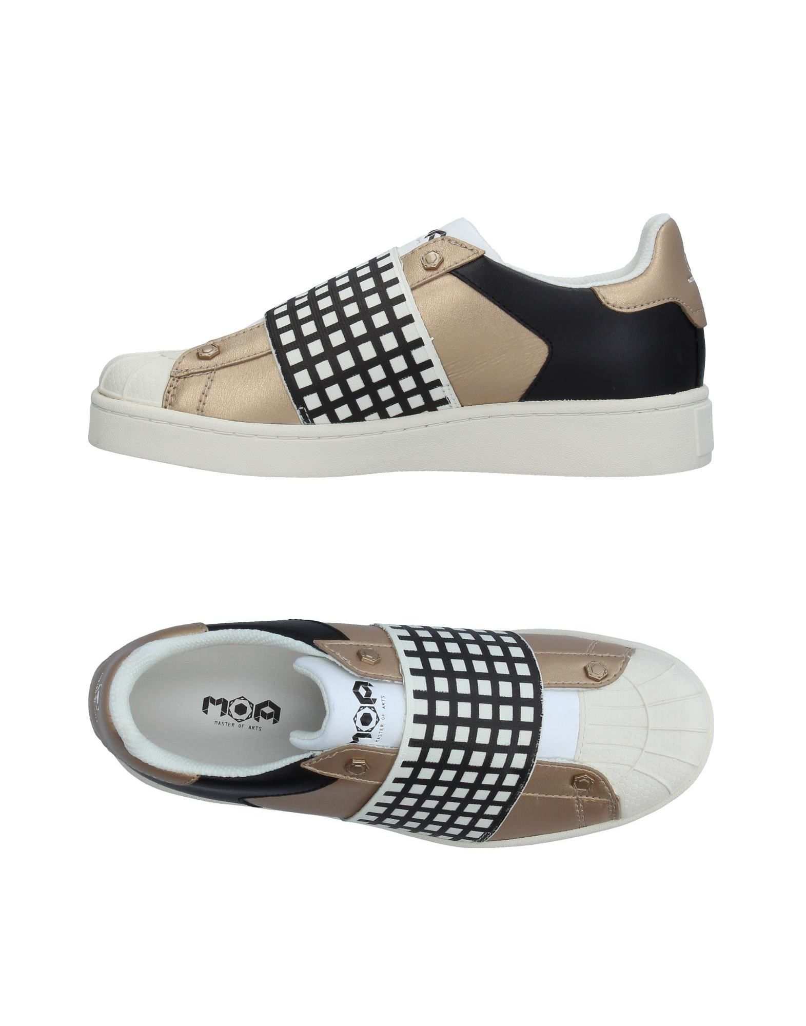 Baskets Moa Master Of Arts Femme - Baskets Moa Master Of Arts Platine Chaussures casual sauvages
