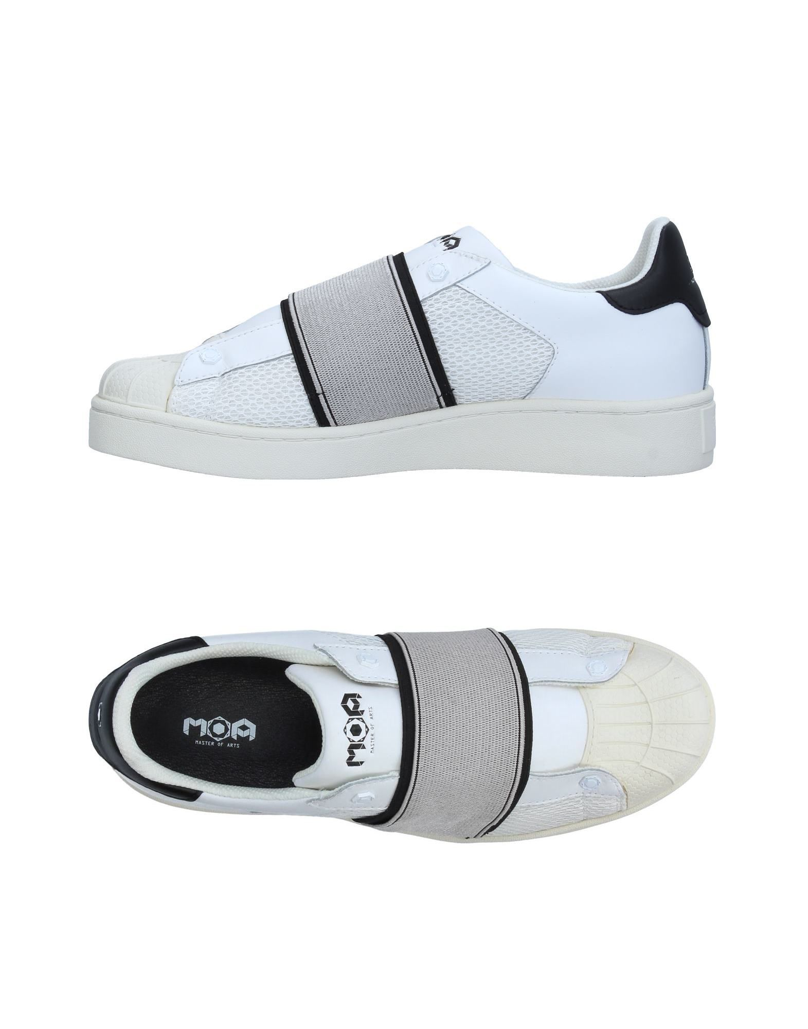 Sneakers Moa Master Of Arts Homme - Sneakers Moa Master Of Arts  Blanc Chaussures casual sauvages