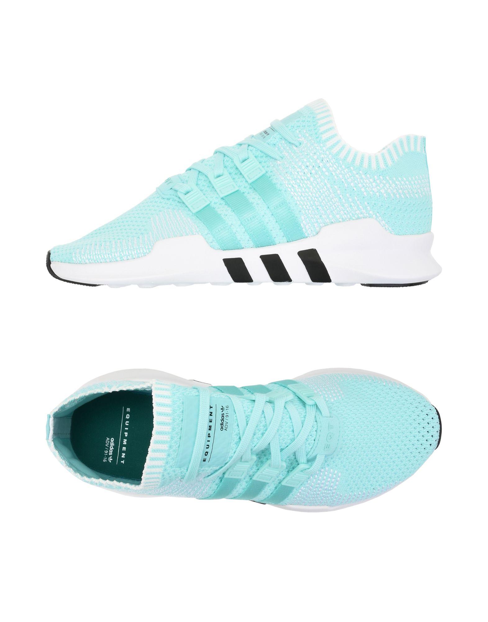 Baskets Adidas Originals Eqt Support Adv Pk W - Femme - Baskets Adidas Originals Vert clair Mode pas cher et belle