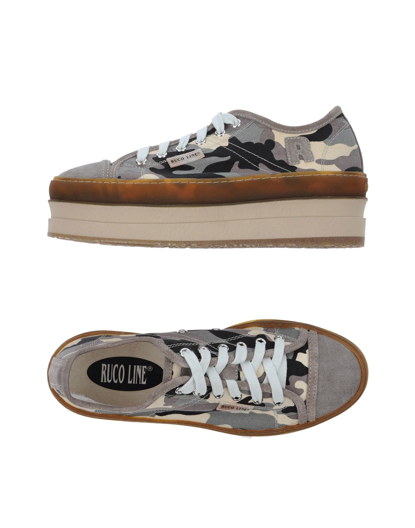 Ruco Line Line Ruco Sneakers Damen  11334482TW 2b675f