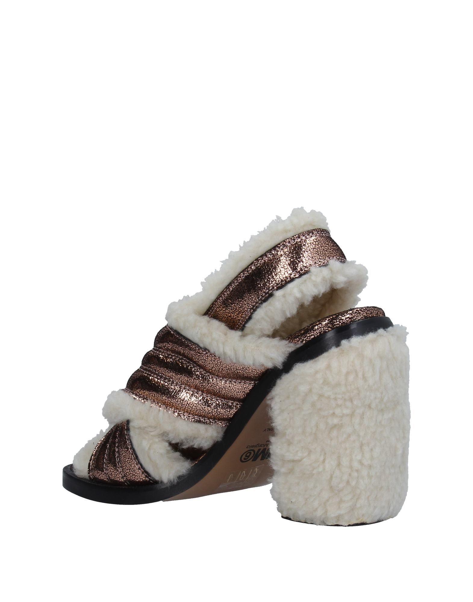 Mm6 Maison Margiela Sandalen strapazierfähige Damen  11334569EXGut aussehende strapazierfähige Sandalen Schuhe a34a42