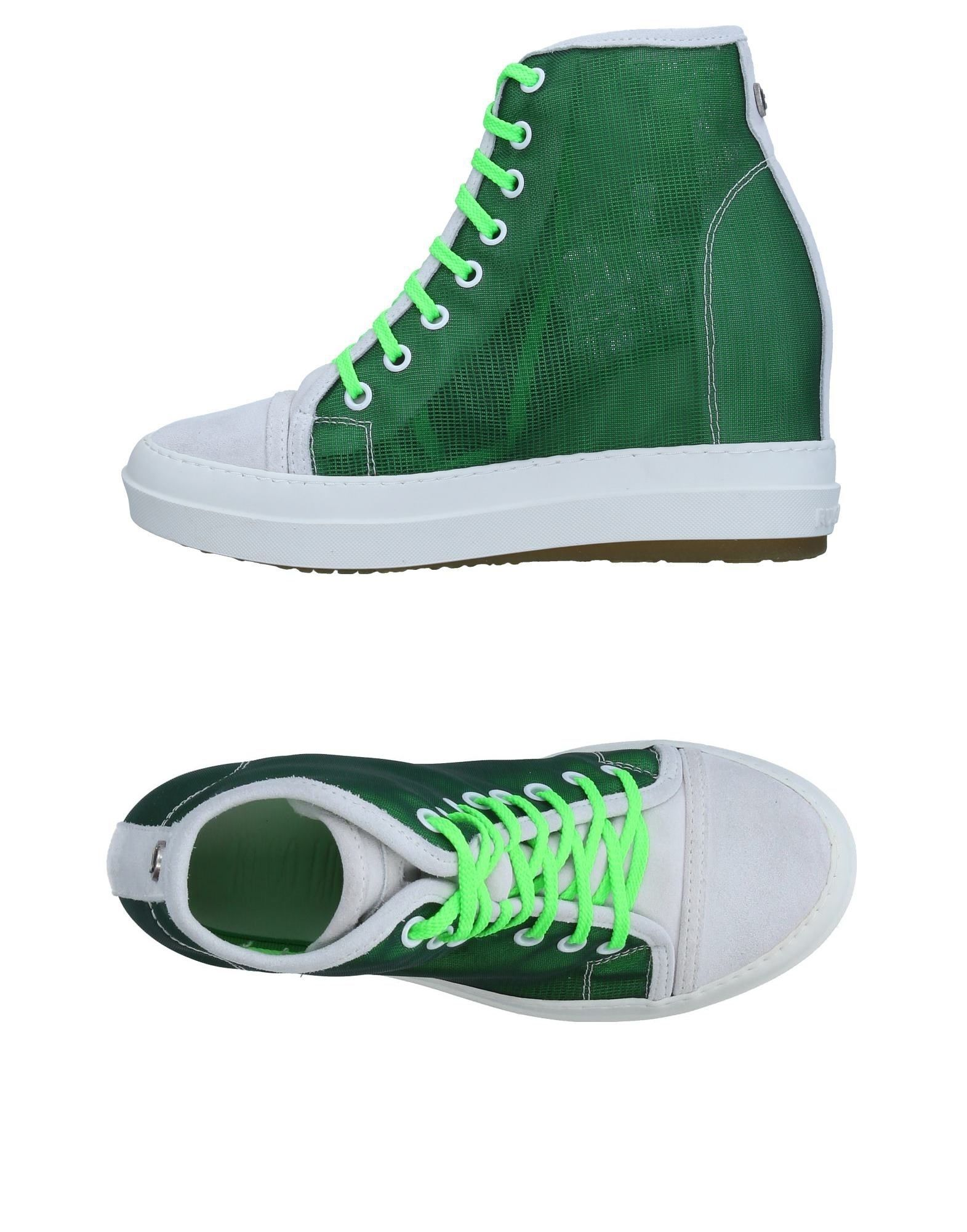 Baskets Ruco Line Femme - Baskets Ruco Line Vert Chaussures casual sauvages