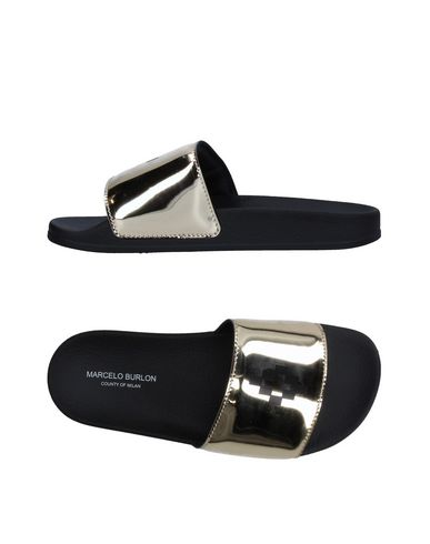 MARCELO BURLON Sandals cheap cost free shipping cheap quality hZcvd