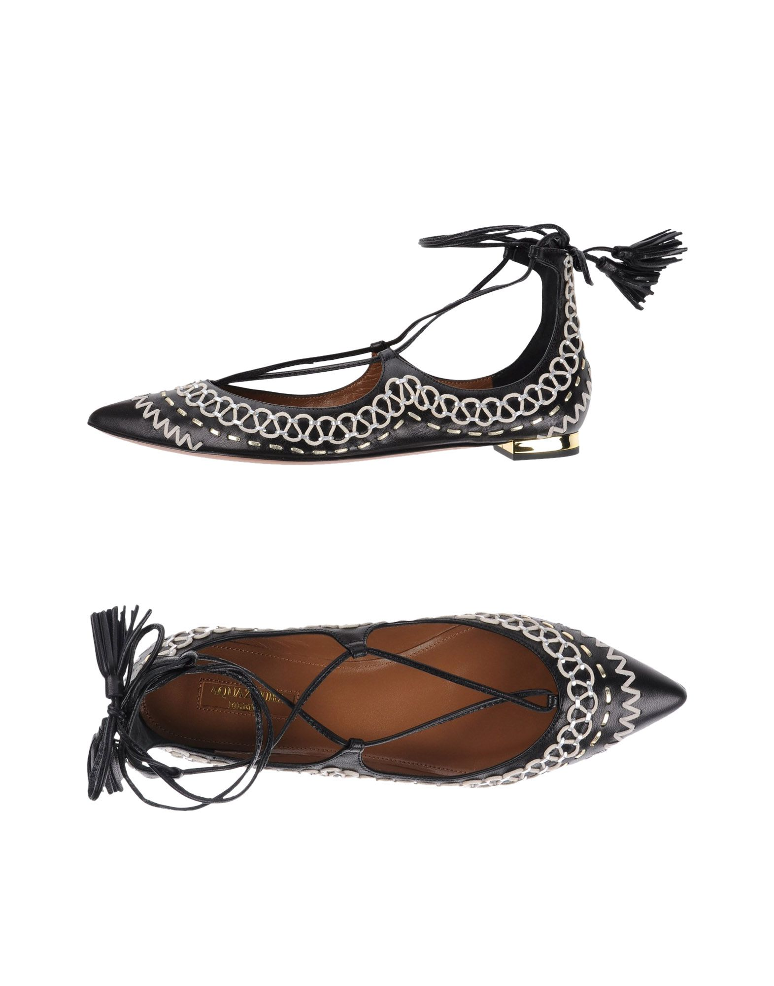 Aquazzura Ballerinas Damen  11334731BLGünstige gut aussehende Schuhe