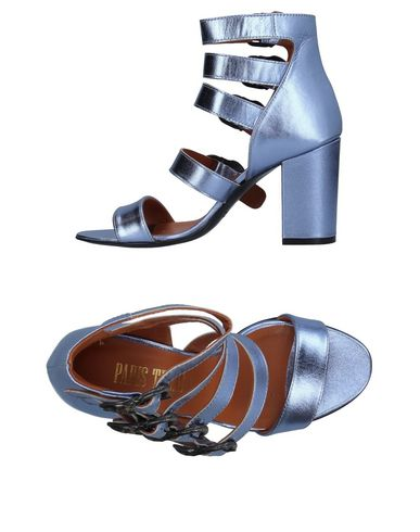 Descuento de la marca Sandalia Santoni Mujer - Sandalias Santoni - 11388531MT Azul francés