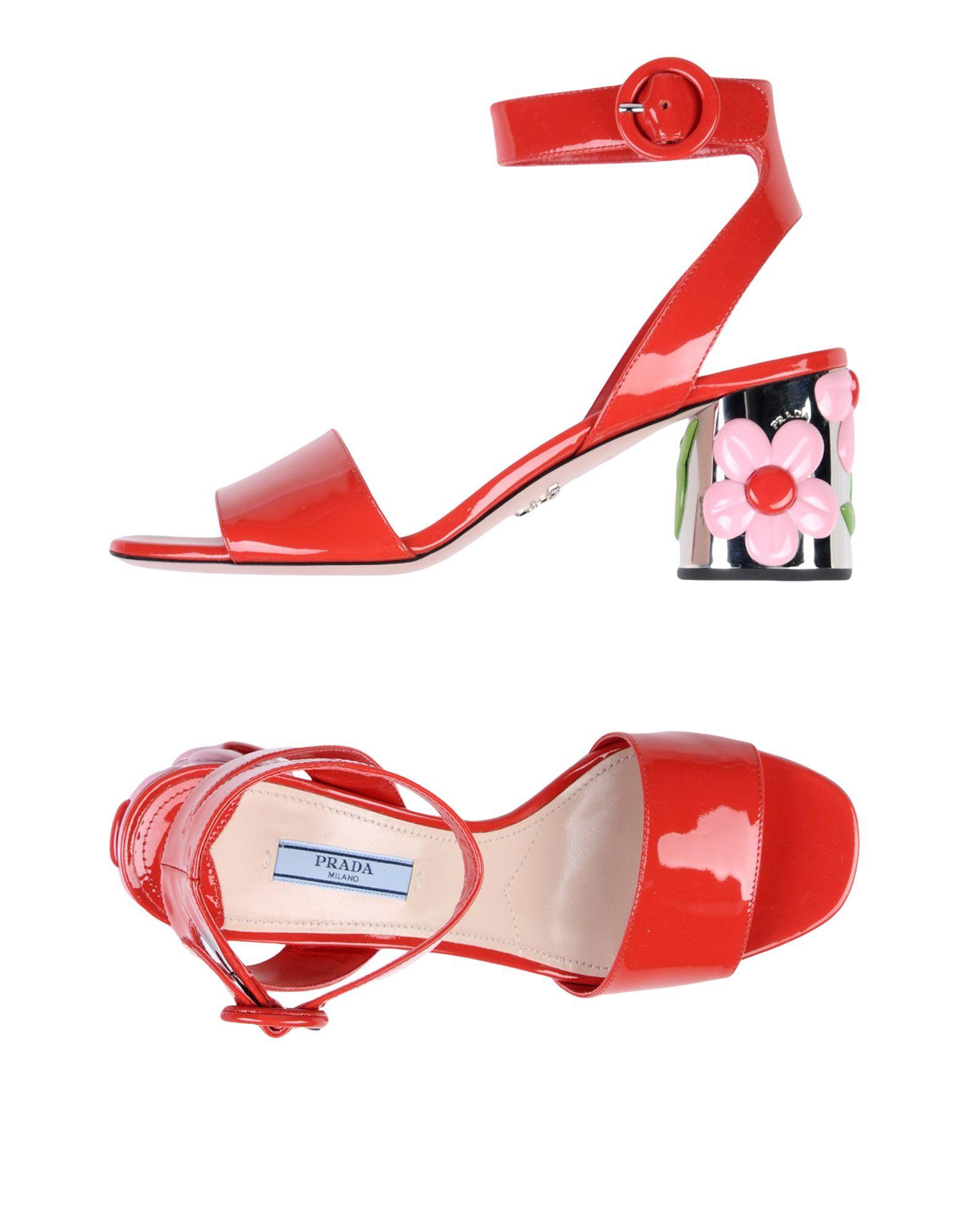 Prada Sandalen Damen  11334782VDGünstige gut aussehende Schuhe