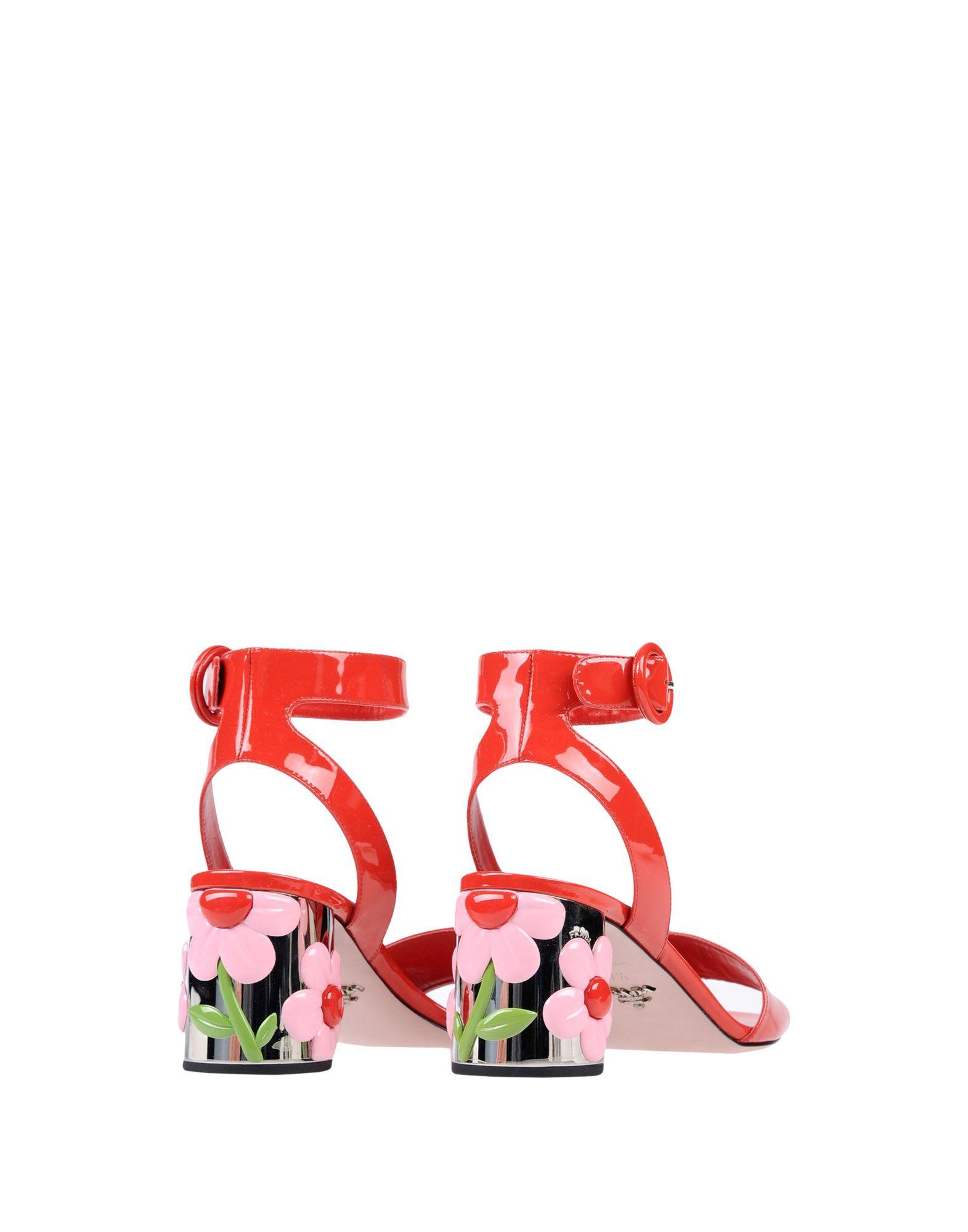 Haltbare Mode billige Schuhe Prada Sandalen Damen  11334782VD Heiße Schuhe