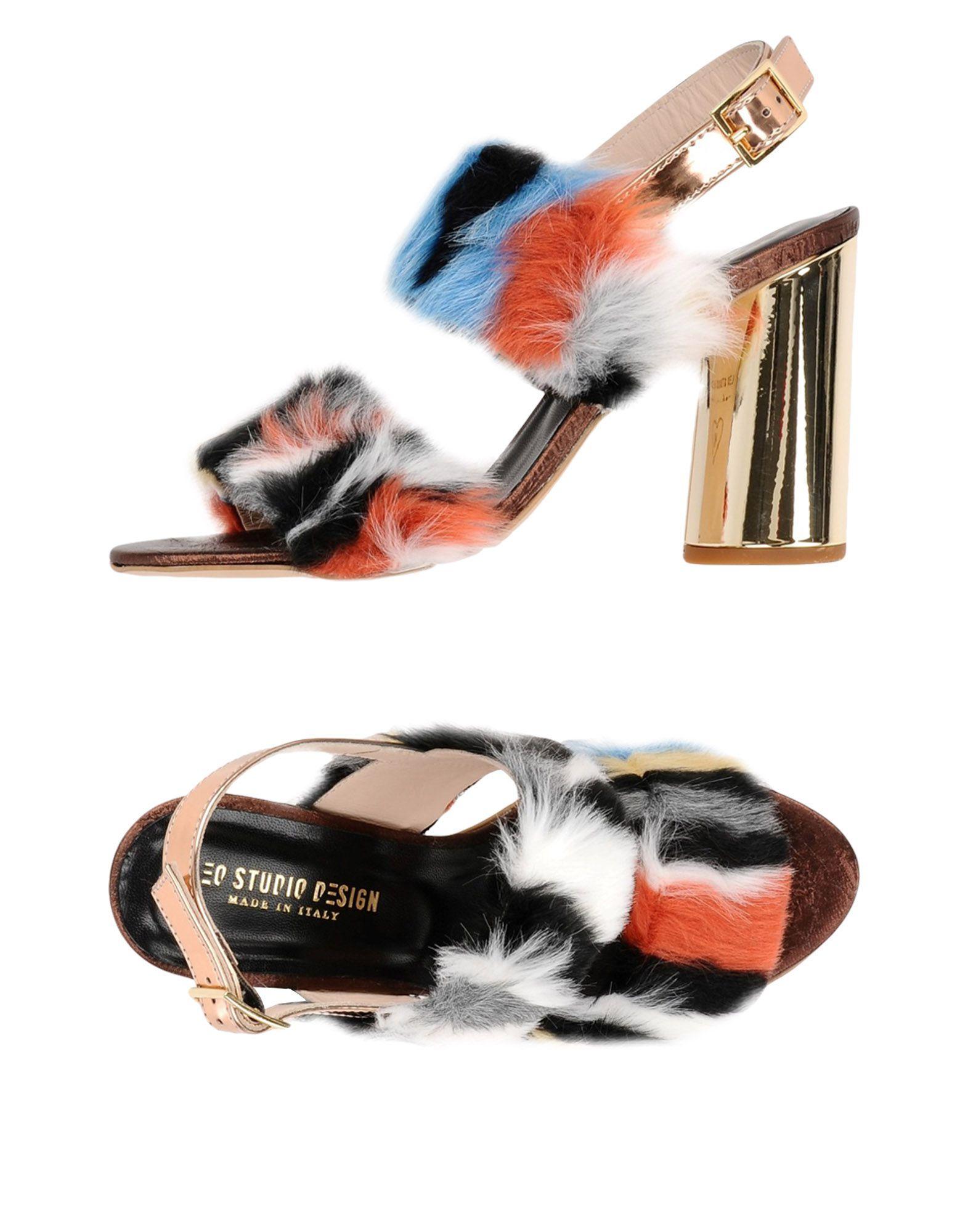 Gut um billige Schuhe zu tragenLeo Studio Design Sandalen Damen  11335108RQ