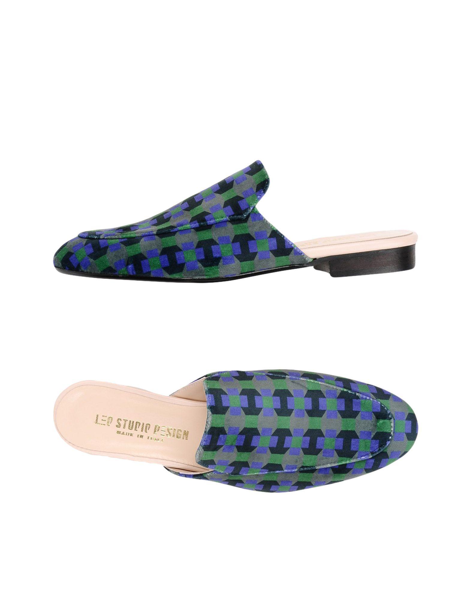Gut um billige Schuhe zu tragenLeo Studio Design Pantoletten Damen  11335135QS
