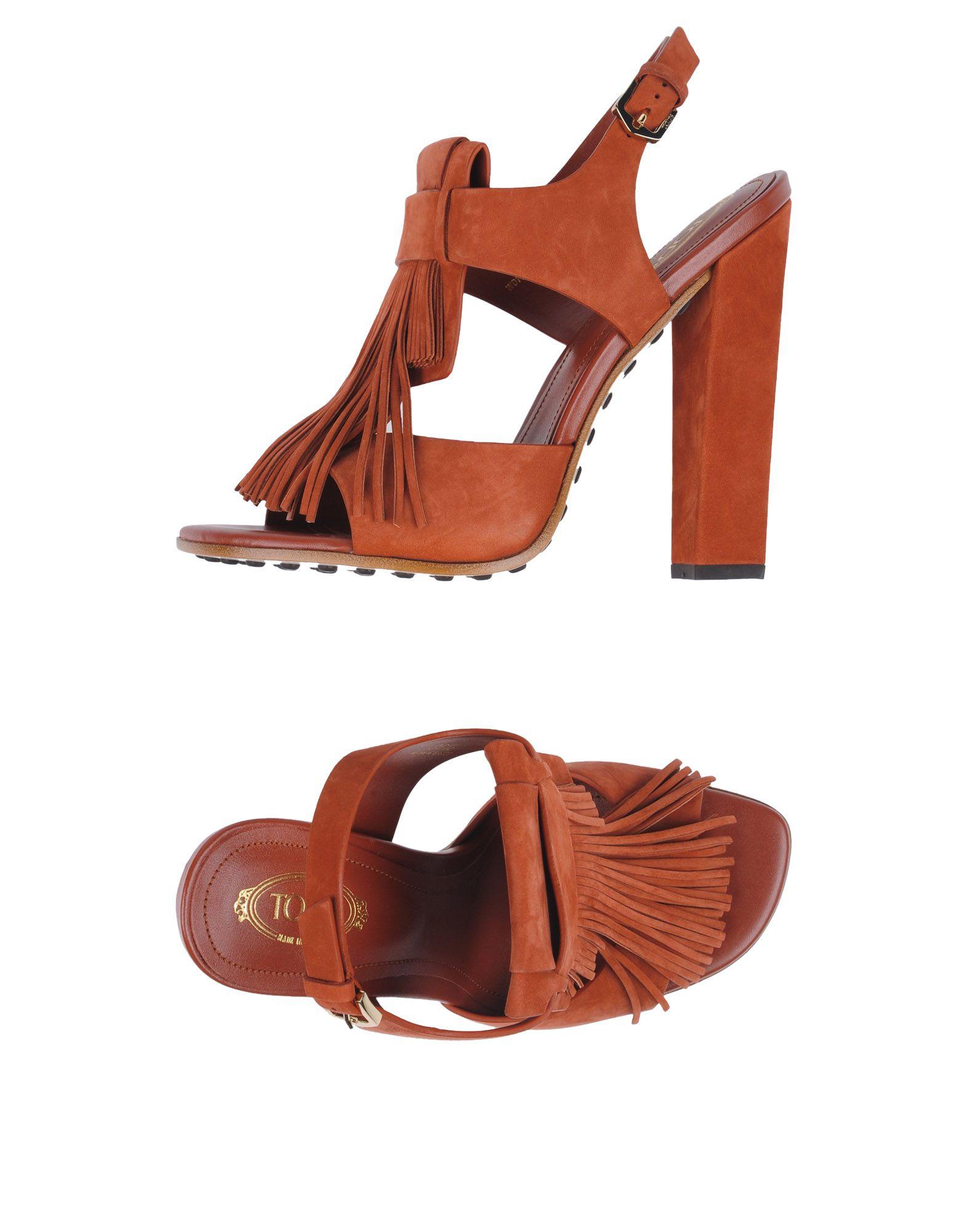 Stilvolle billige Schuhe Tod's Sandalen Damen  11335330HP