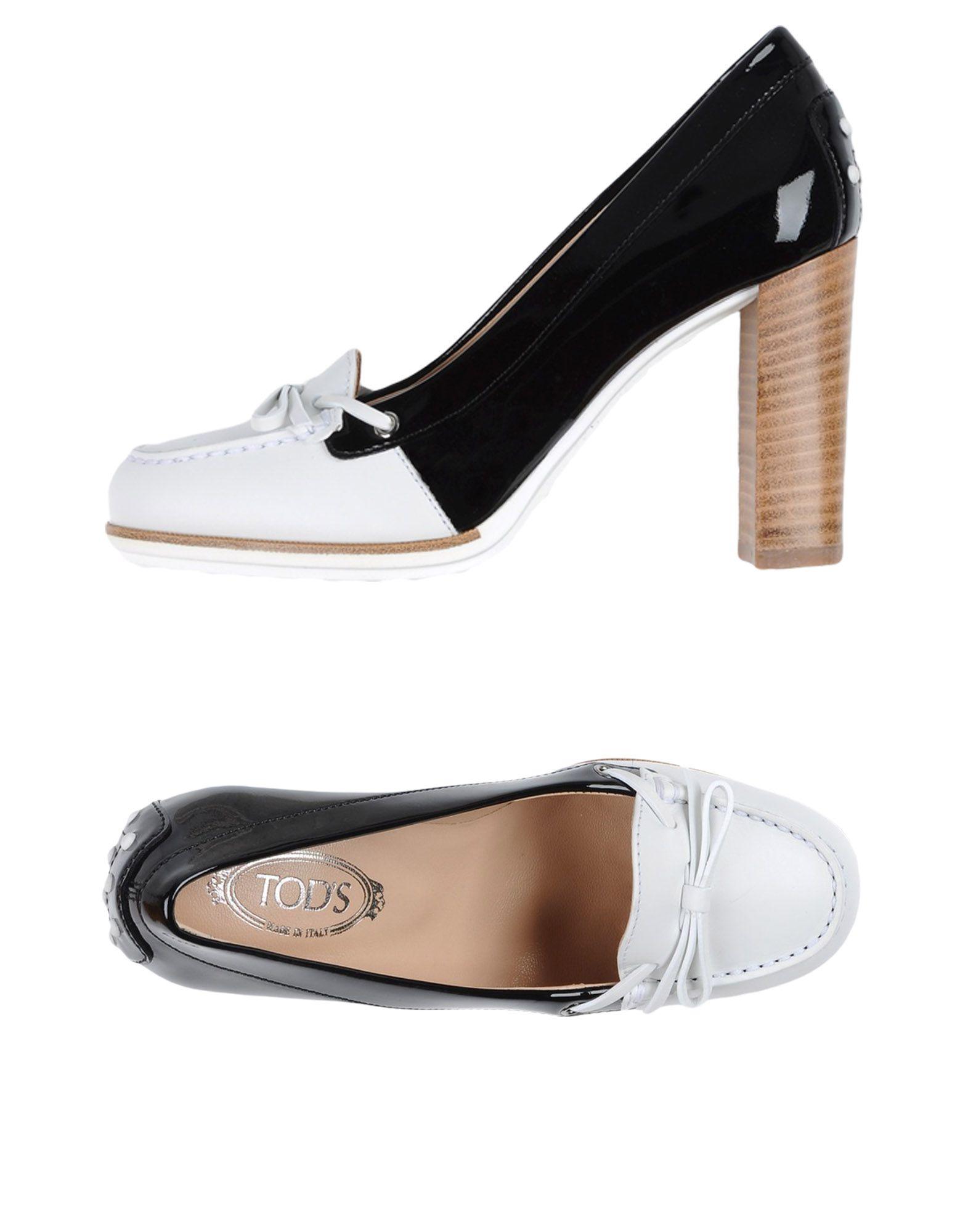 Rabatt Schuhe Tod's Mokassins Damen  11335335GR