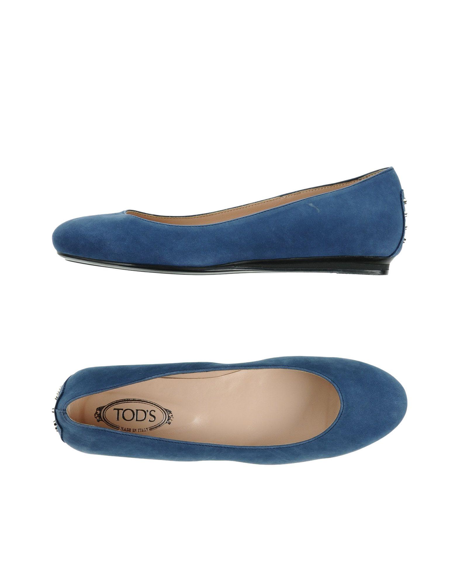 Tod's Ballerinas Damen  11335768RCGut aussehende strapazierfähige Schuhe