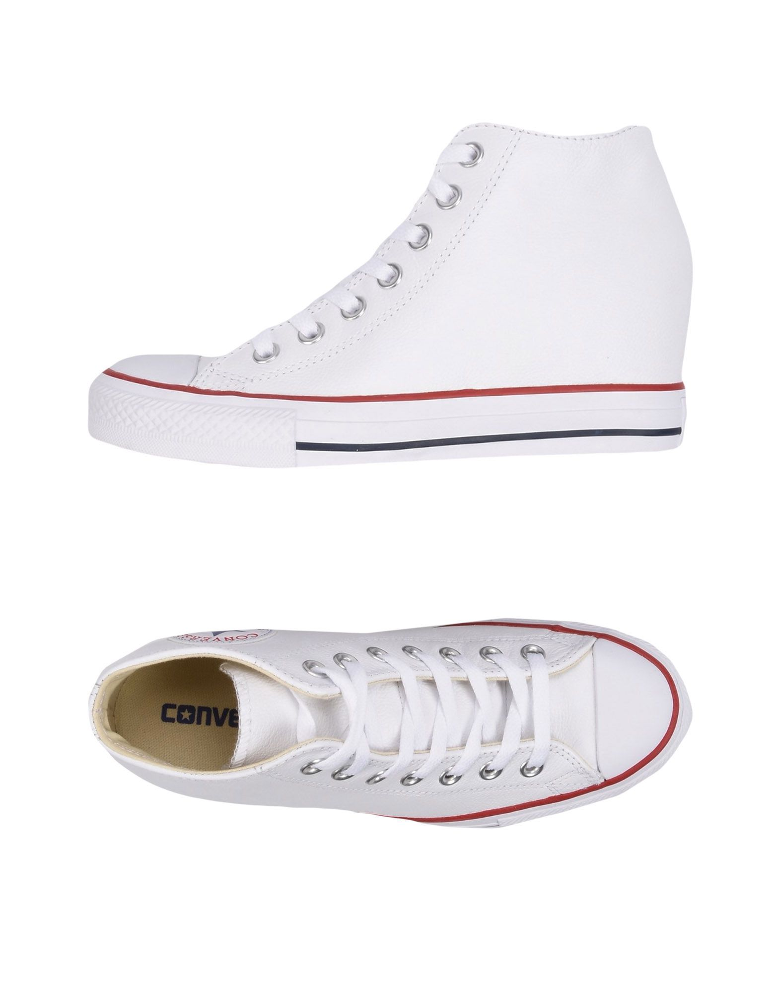 Sneakers Converse All Star Ct As Mid Lux Leather - Femme - Sneakers Converse All Star sur