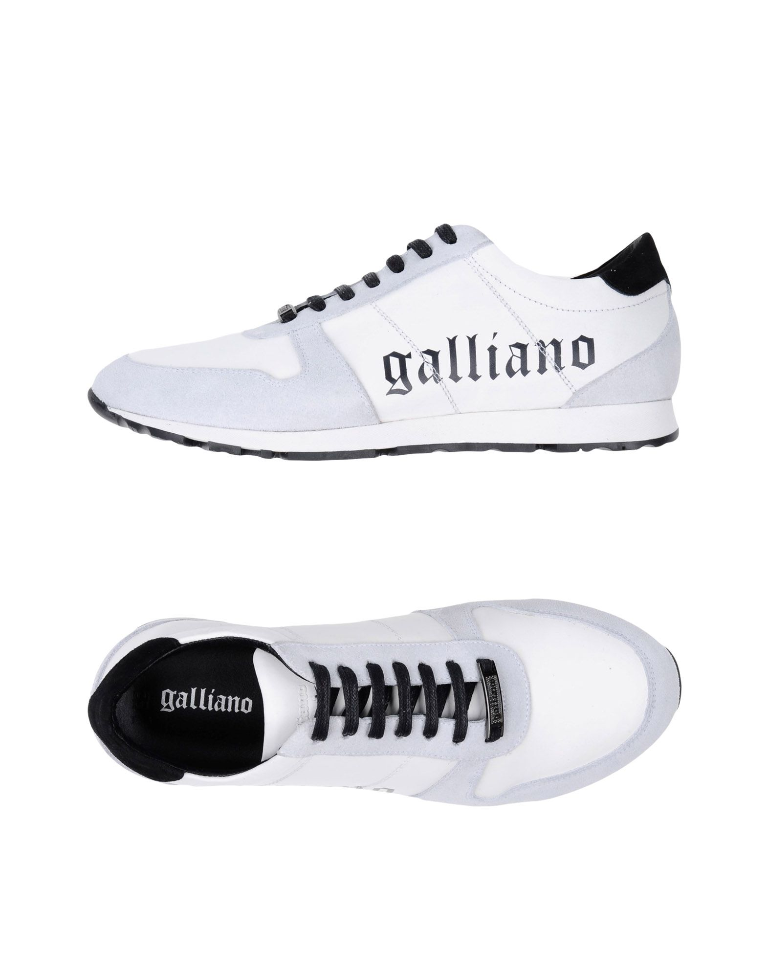 Sneakers Galliano Homme - Sneakers Galliano  Blanc Meilleur modèle de vente
