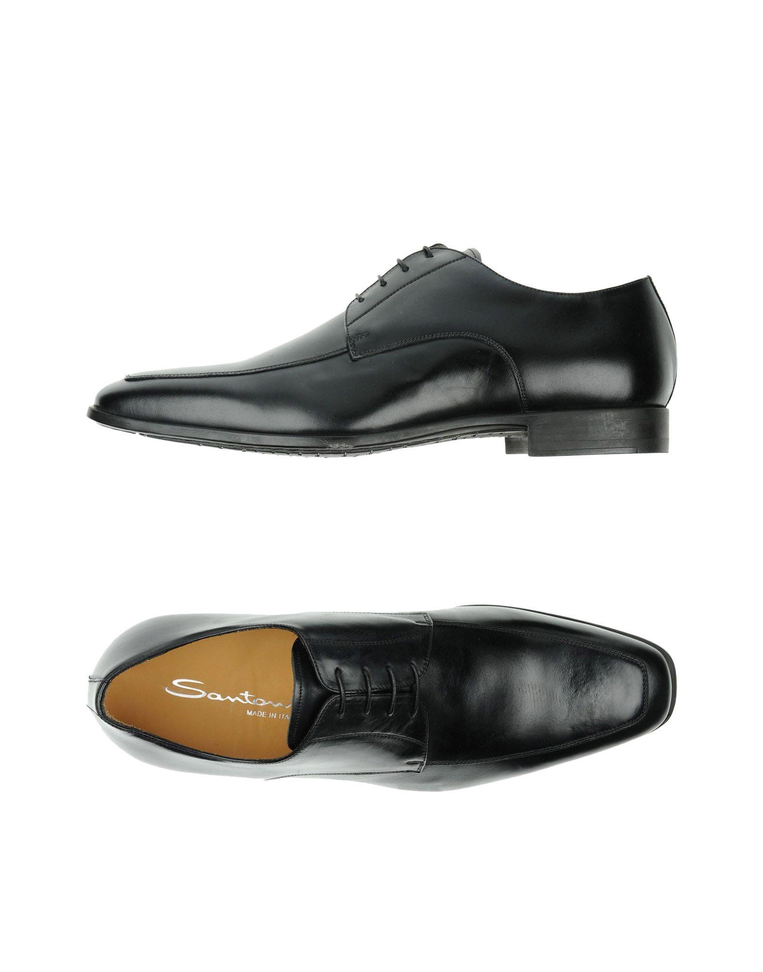 Günstige und modische Schuhe Santoni Schnürschuhe Herren  11336153II