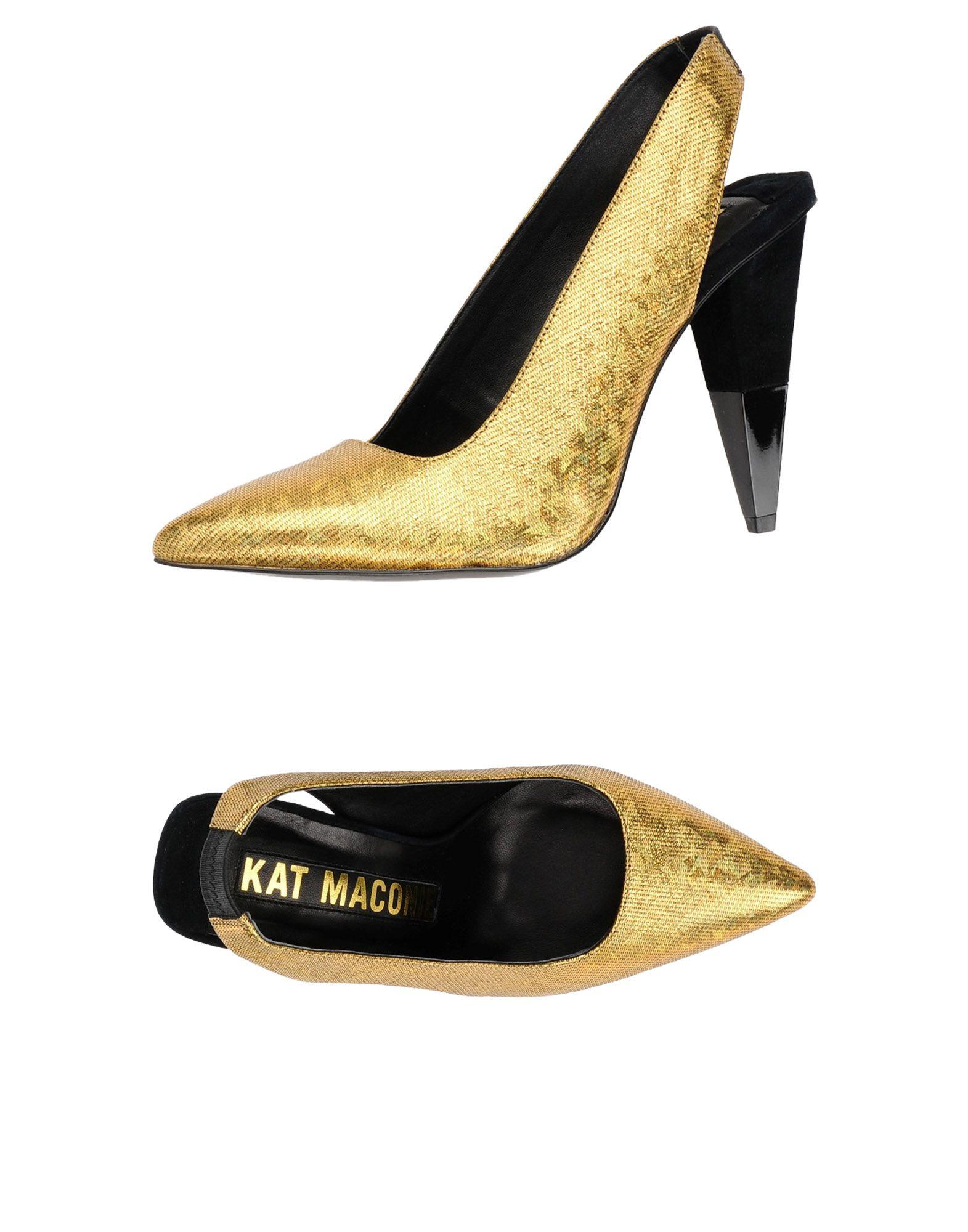 Escarpins Kat Maconie Femme - Escarpins Kat Maconie Or Dernières chaussures discount pour hommes et femmes