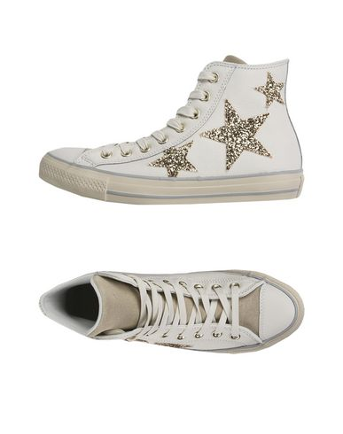 converse leather glitter