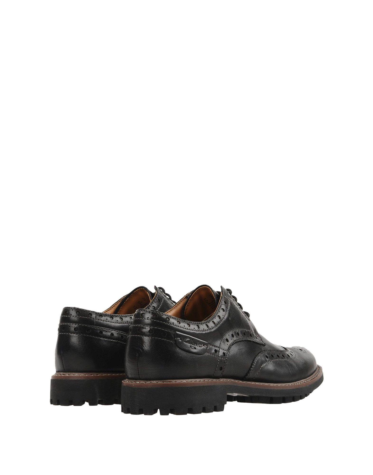 Chaussures À Lacets Clarks Montacute Wing - Homme - Chaussures À Lacets Clarks sur