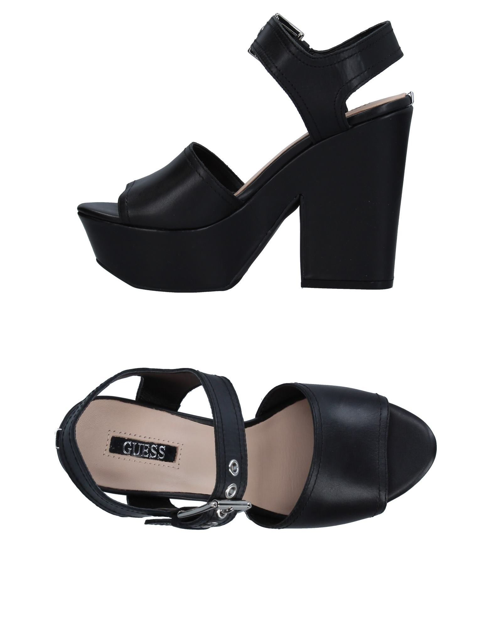 Gut um billige Damen Schuhe zu tragenGuess Sandalen Damen billige  11336637NT 004706