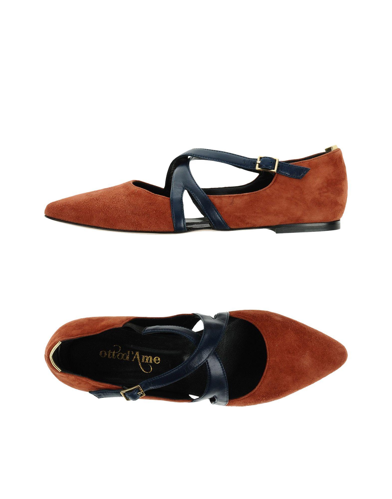 Ottod'ame Ballerinas Damen  11336689UB Gute Qualität beliebte Schuhe
