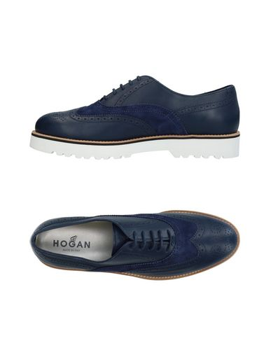 À Lacets Bleu Chaussures Hogan Foncé w1AqT700Hx