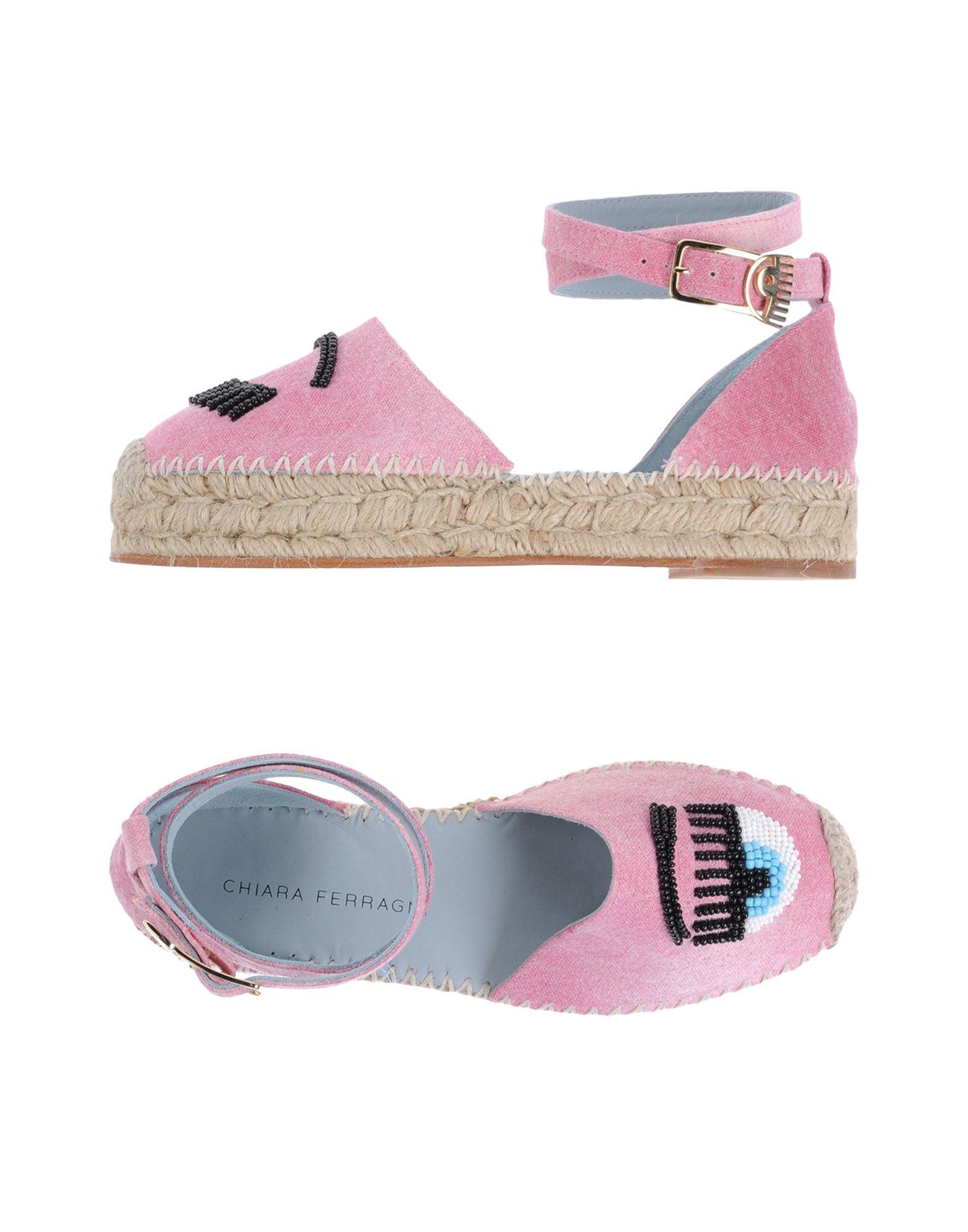 Gut um billige Damen Schuhe zu tragenChiara Ferragni Espadrilles Damen billige  11337175NR bebf63