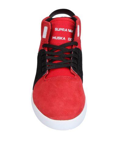 buy popular 1b15f d20ee ... Zapatillas Supra Mujer - Zapatillas Supra - 11337536VC Rojo ...