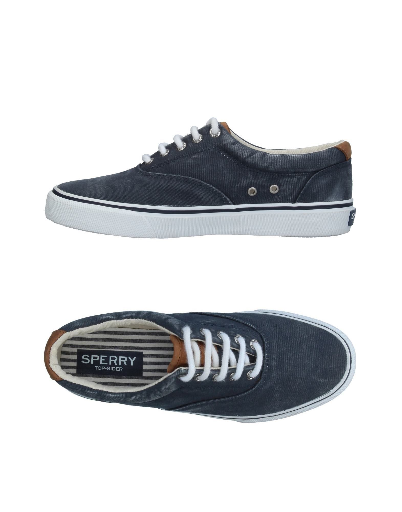Baskets Sperry Top-Sider Femme - Baskets Sperry Top-Sider Bleu foncé Mode pas cher et belle