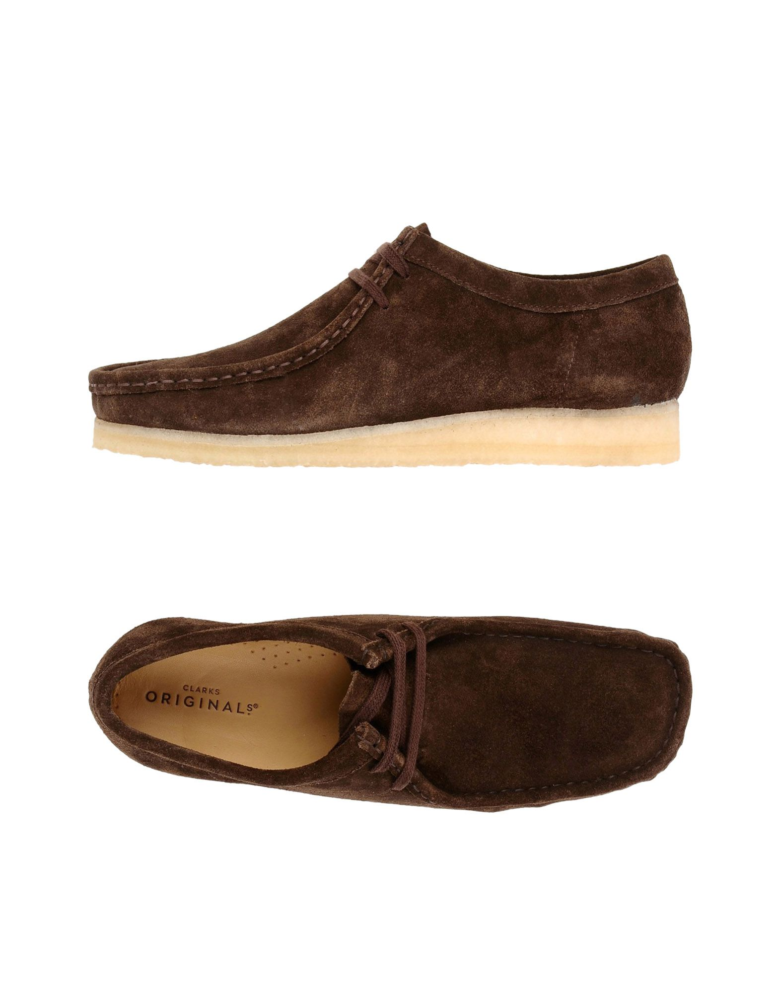 b1f519b5d903 Clarks Originals Wallabee - Laced Shoes - Men Clarks Originals Laced ...