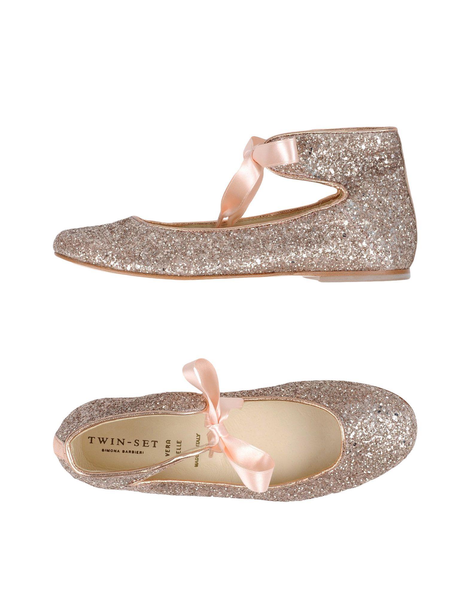 Chaussures Twin-Set Simona Barbieri beiges garçon PDtM7ILE