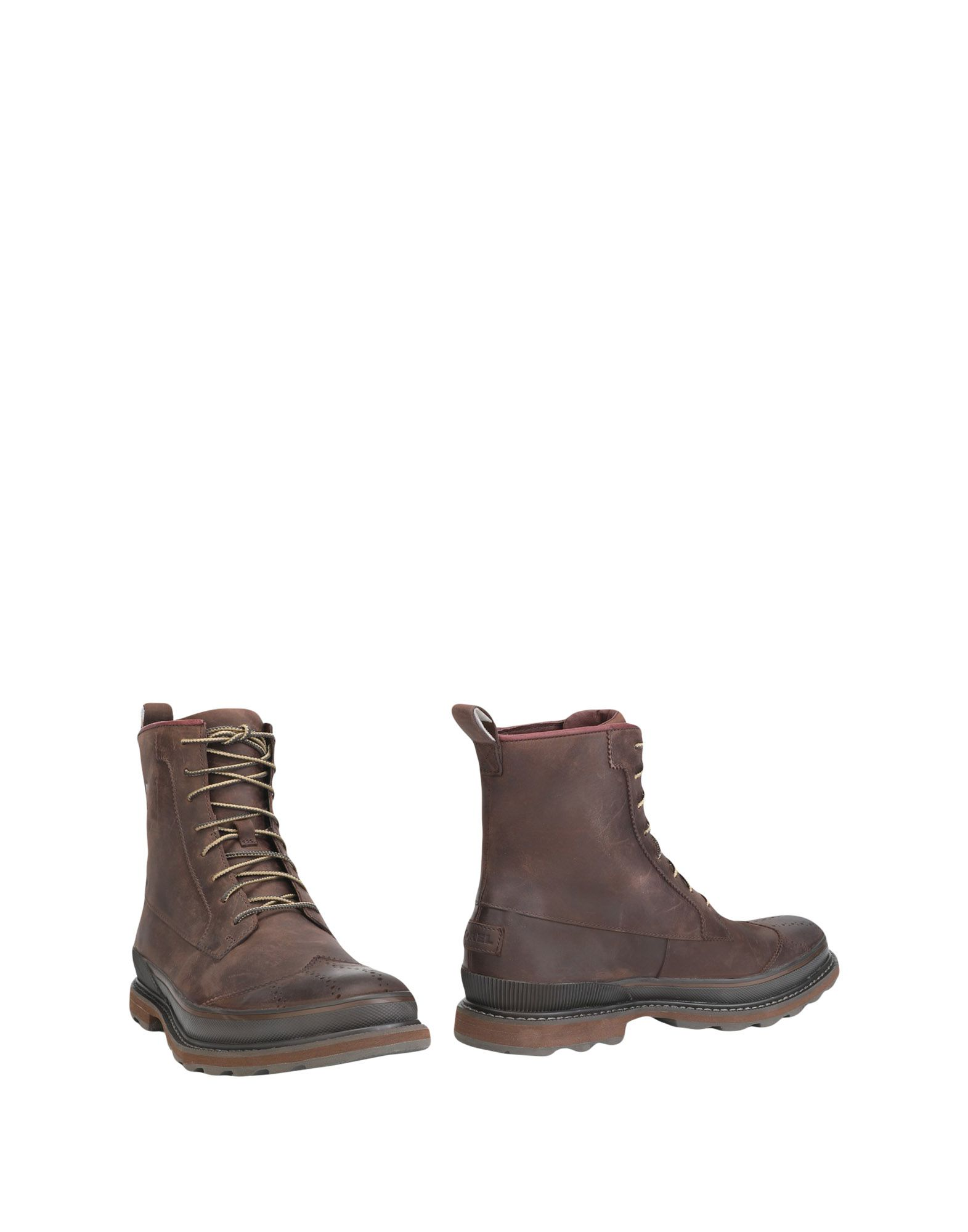 Bottine Sorel Madson Wingtip Boot Waterproof - Homme - Bottines Sorel  Noir Dédouanement saisonnier