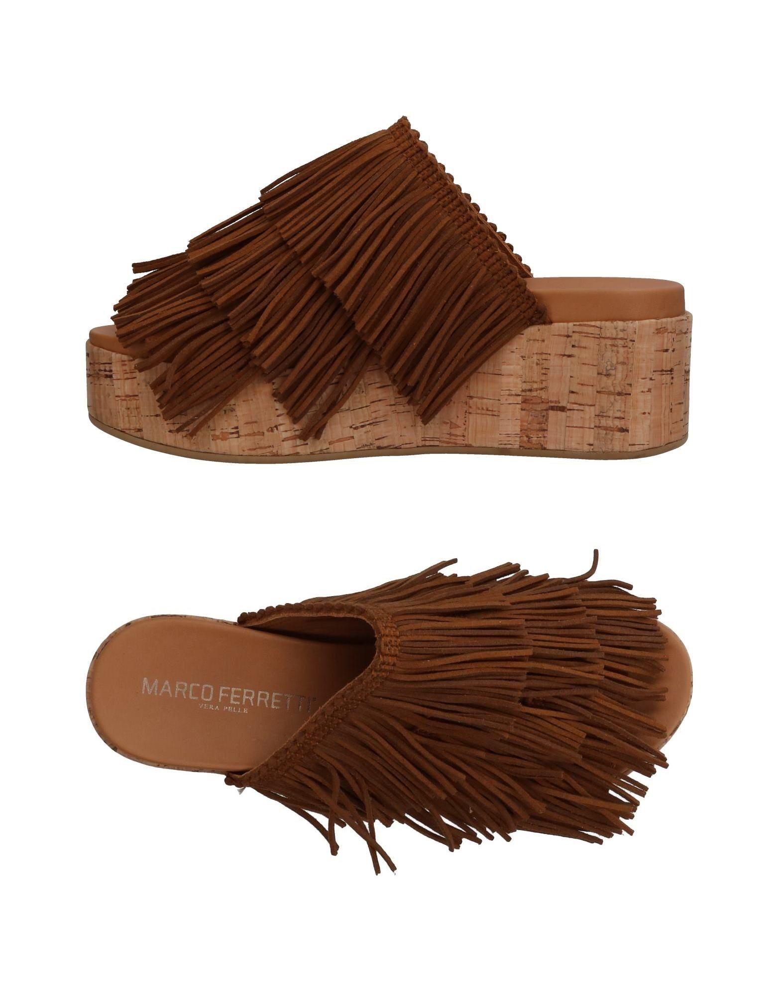 Gut tragenMarco um billige Schuhe zu tragenMarco Gut Ferretti Pantoletten Damen  11339045BS 9d5c6d