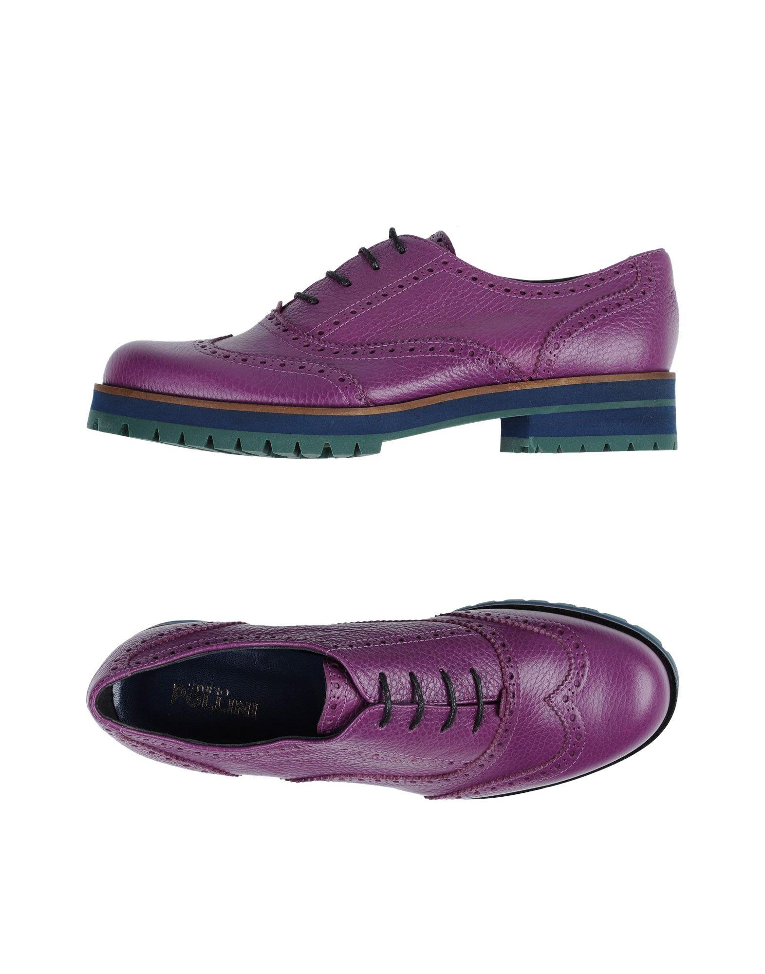 Stilvolle billige Schuhe Studio Pollini Schnürschuhe Damen  11339139IA