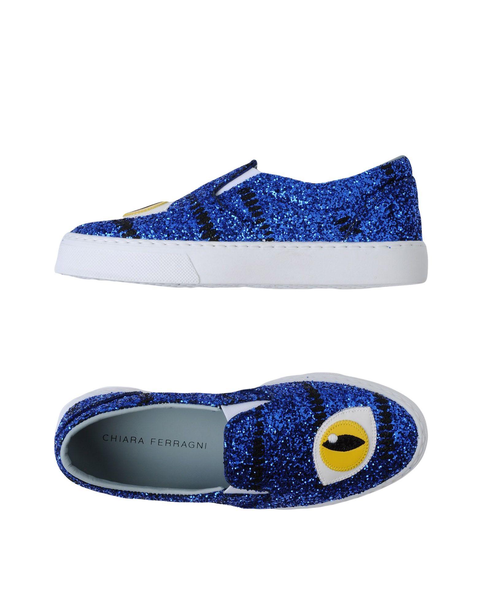 Zapatillas Chiara Ferragni Mujer - Zapatillas Chiara Ferragni Ferragni Chiara  Azul eléctrico 1b693c