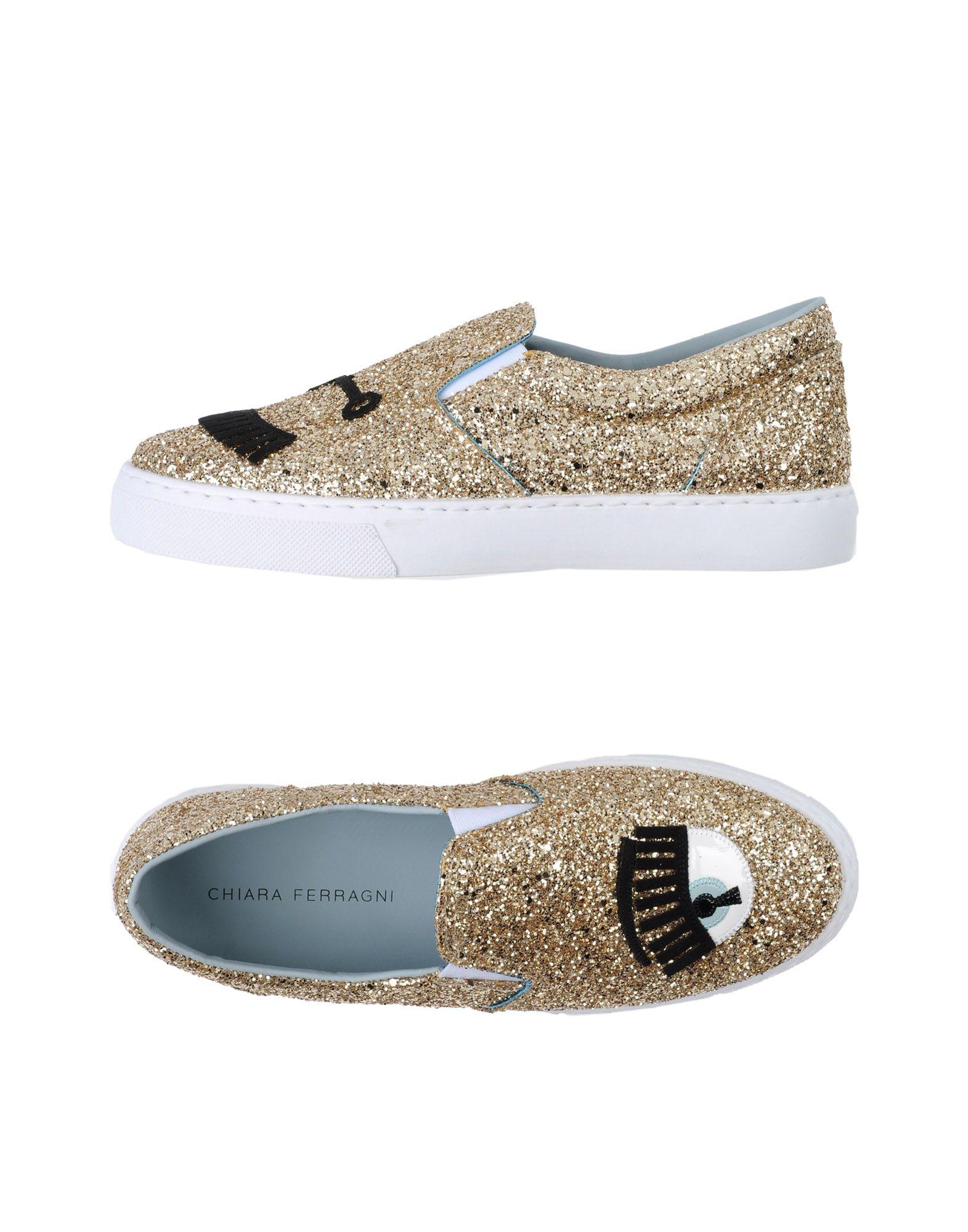 Stilvolle billige Schuhe Chiara Ferragni Sneakers Damen  11339492NA