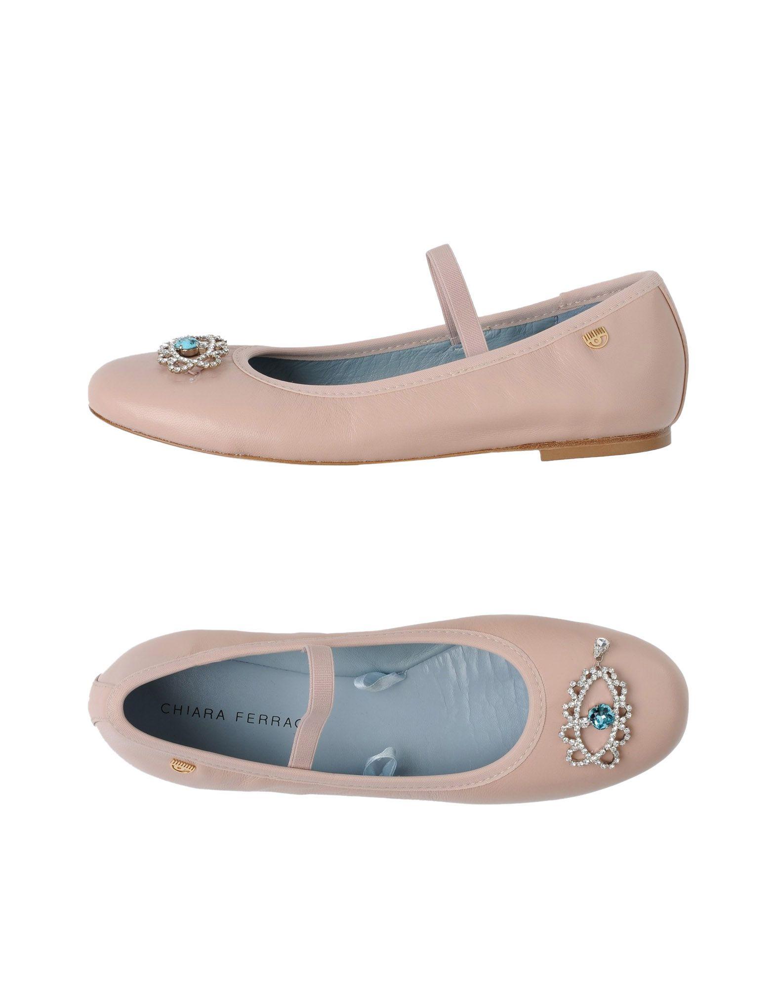 Gut um billige Schuhe zu tragenChiara Ferragni Ballerinas Damen  11339639DN