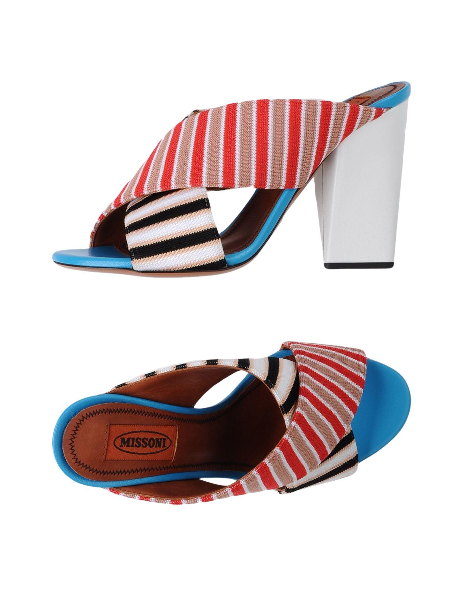 Stilvolle billige Schuhe Missoni Sandalen Damen  11339909GD