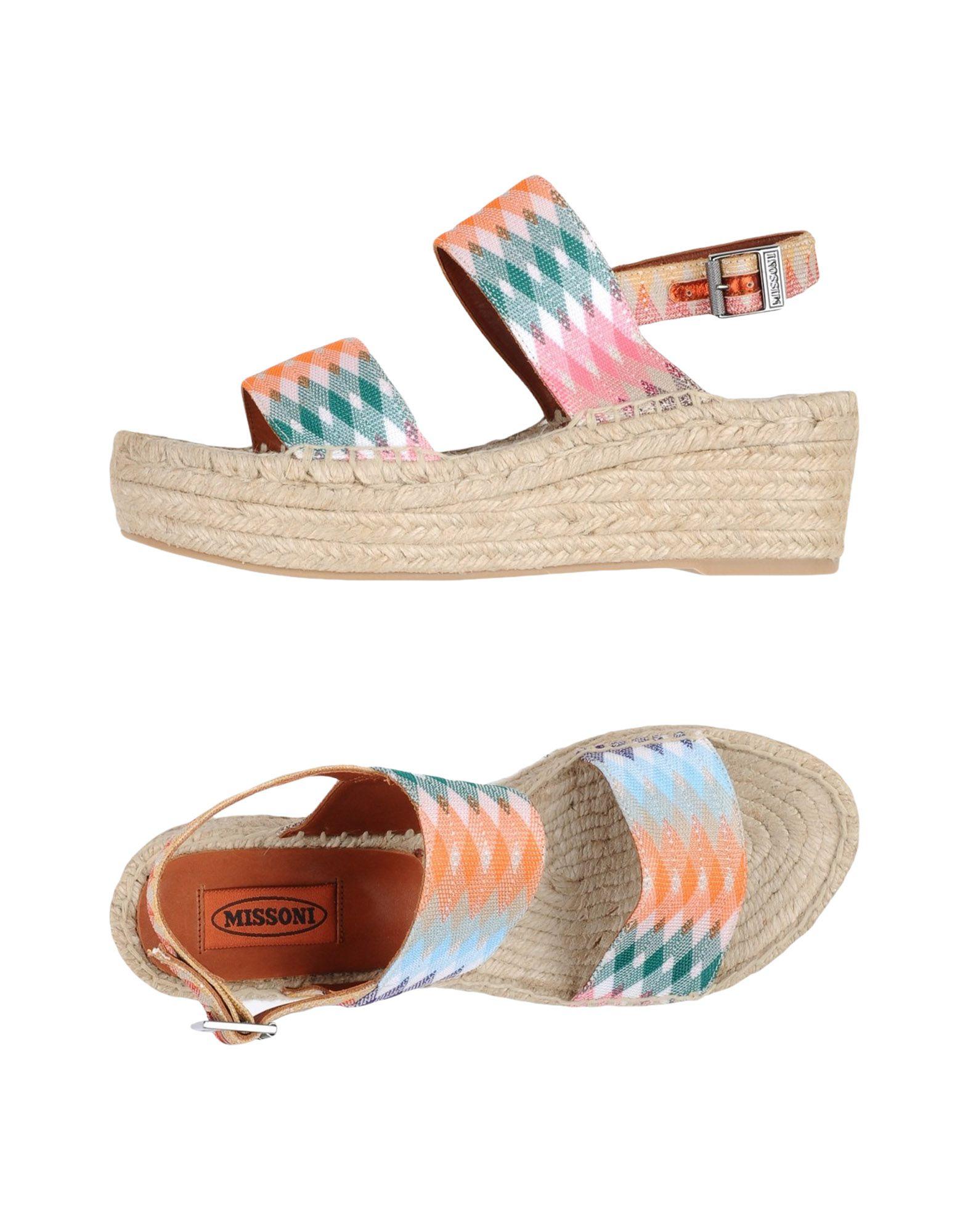 Missoni Sandalen 11339913TTGut Damen  11339913TTGut Sandalen aussehende strapazierfähige Schuhe 7db043