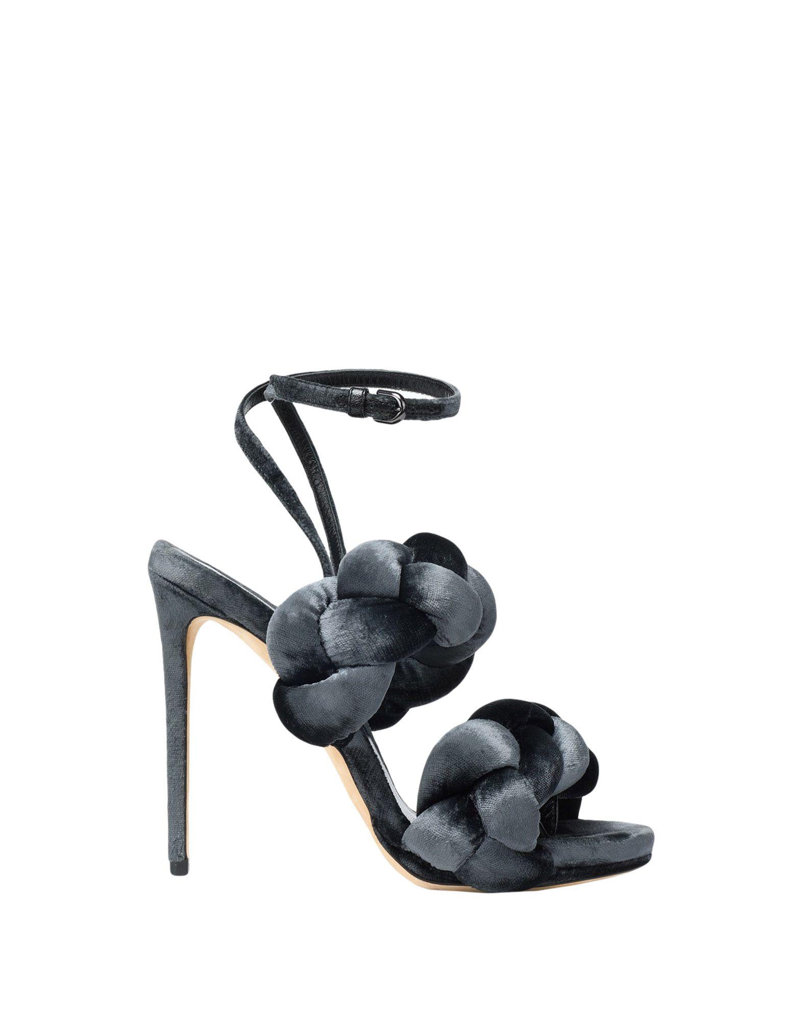 Femme Nouvelle mode Noir MARCO DE VINCENZO Sandales à talons