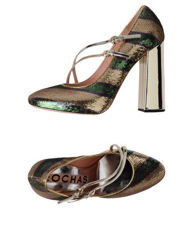Zapatos cómodos Mujer y versátiles Zapato De Salón Rochas Mujer cómodos - Salones Rochas- 11215759QJ Oro dd7038