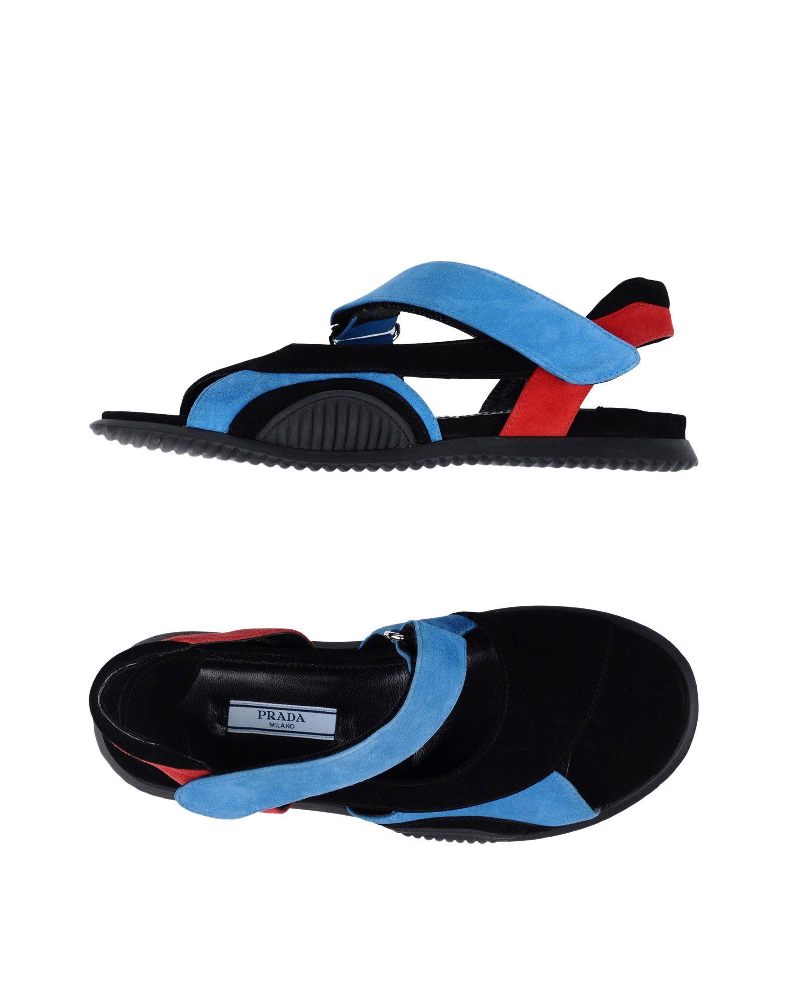 Prada Sandalen Damen aussehende  11340118BMGut aussehende Damen strapazierfähige Schuhe ba706a