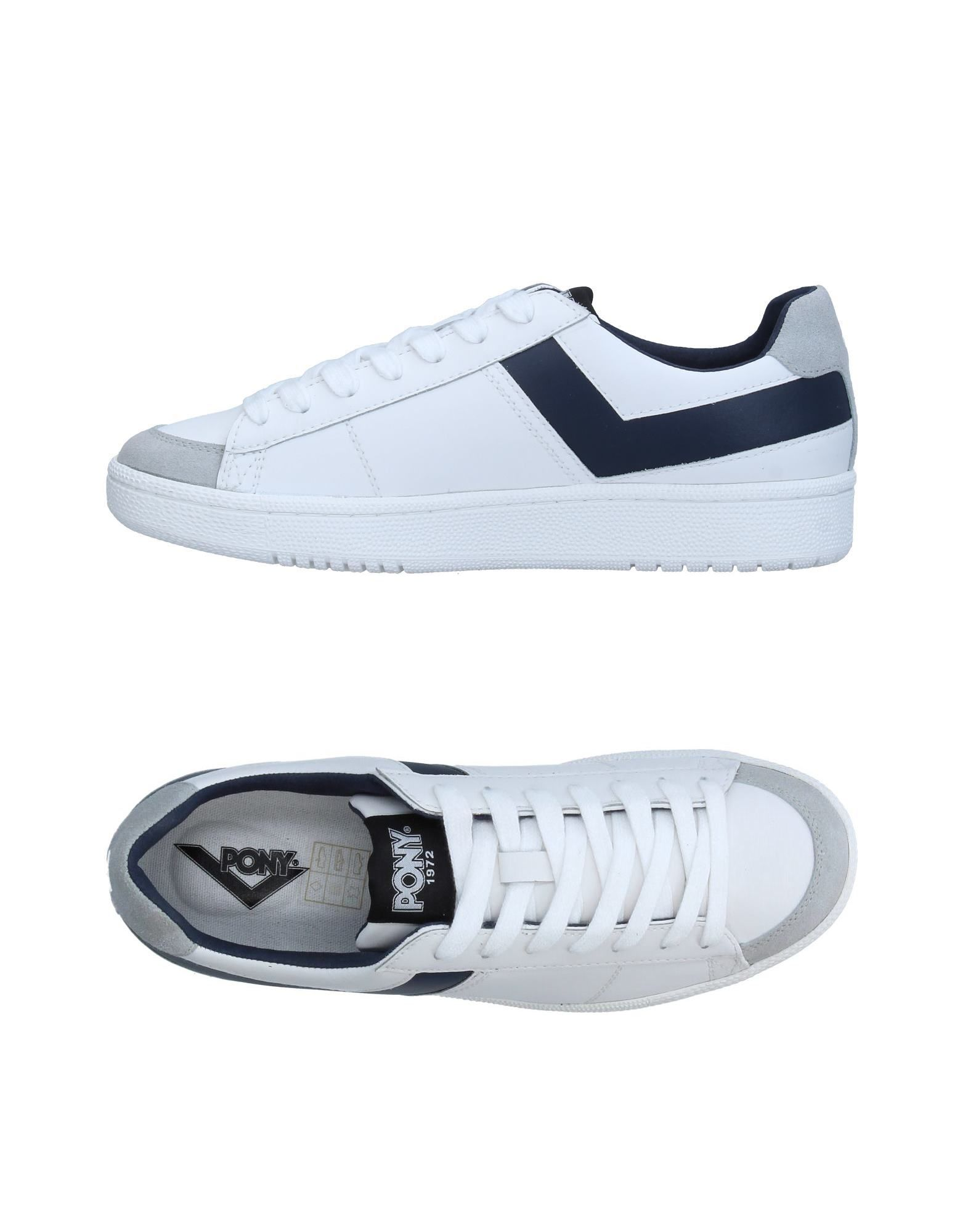 Sneakers Pony Homme - Sneakers Pony  Blanc Chaussures casual sauvages