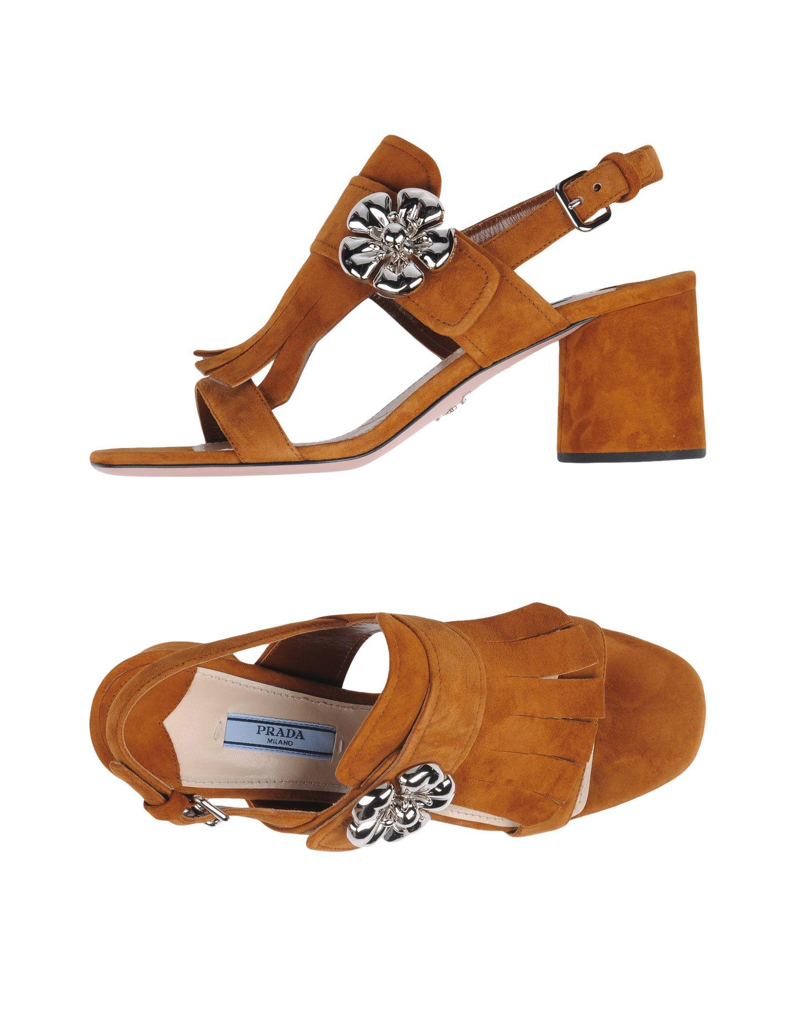 Prada Sandalen Damen gut  11340421SKGünstige gut Damen aussehende Schuhe d20ebf