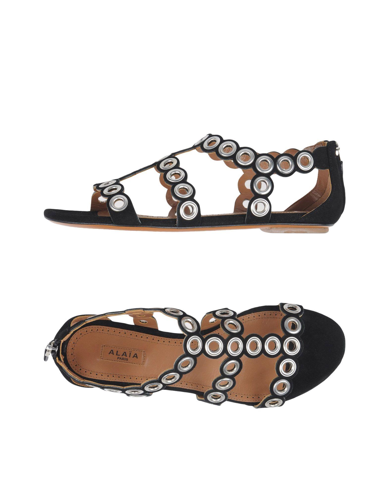 Alaïa Sandalen Damen  11340459BNGünstige gut aussehende Schuhe