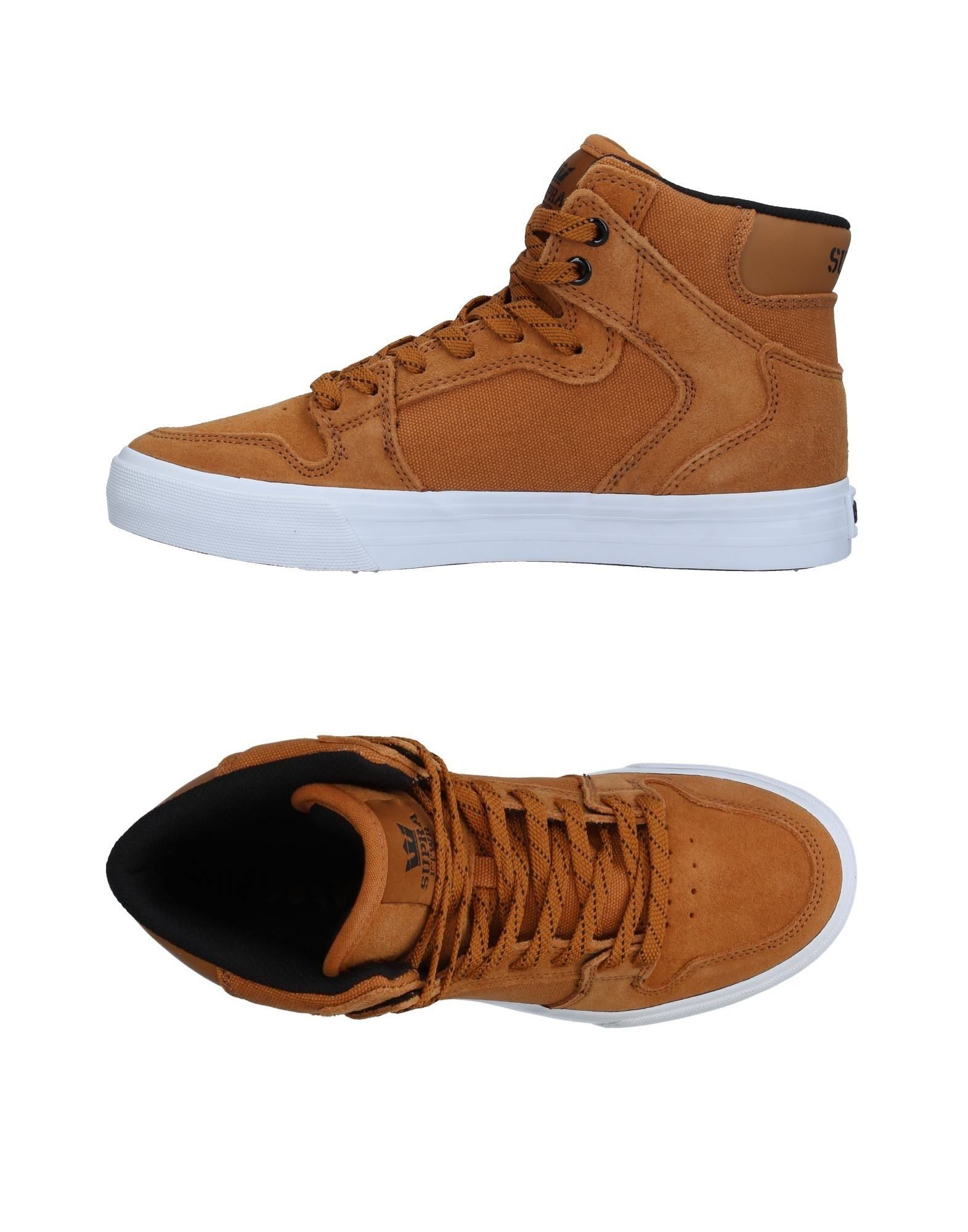 Sneakers Supra Homme - Sneakers Supra  Camel Remise de marque
