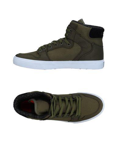 Recortes de precios estacionales, beneficios de descuento Zapatillas Supra Hombre - Zapatillas Supra   - 11340573CW Verde militar
