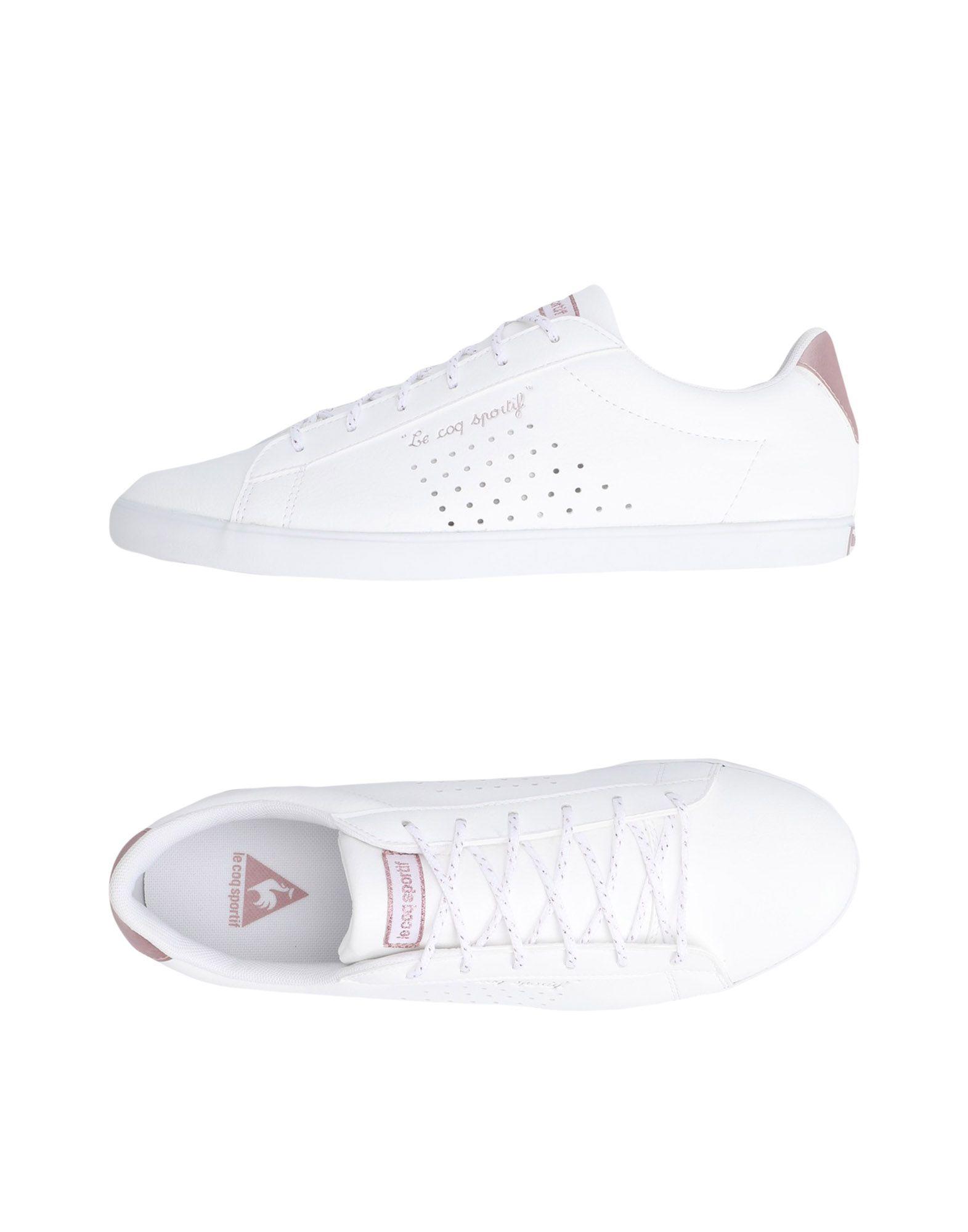 Sneakers Le Coq Sportif Agate Lo S Lea/Metallic - Femme - Sneakers Le Coq Sportif sur