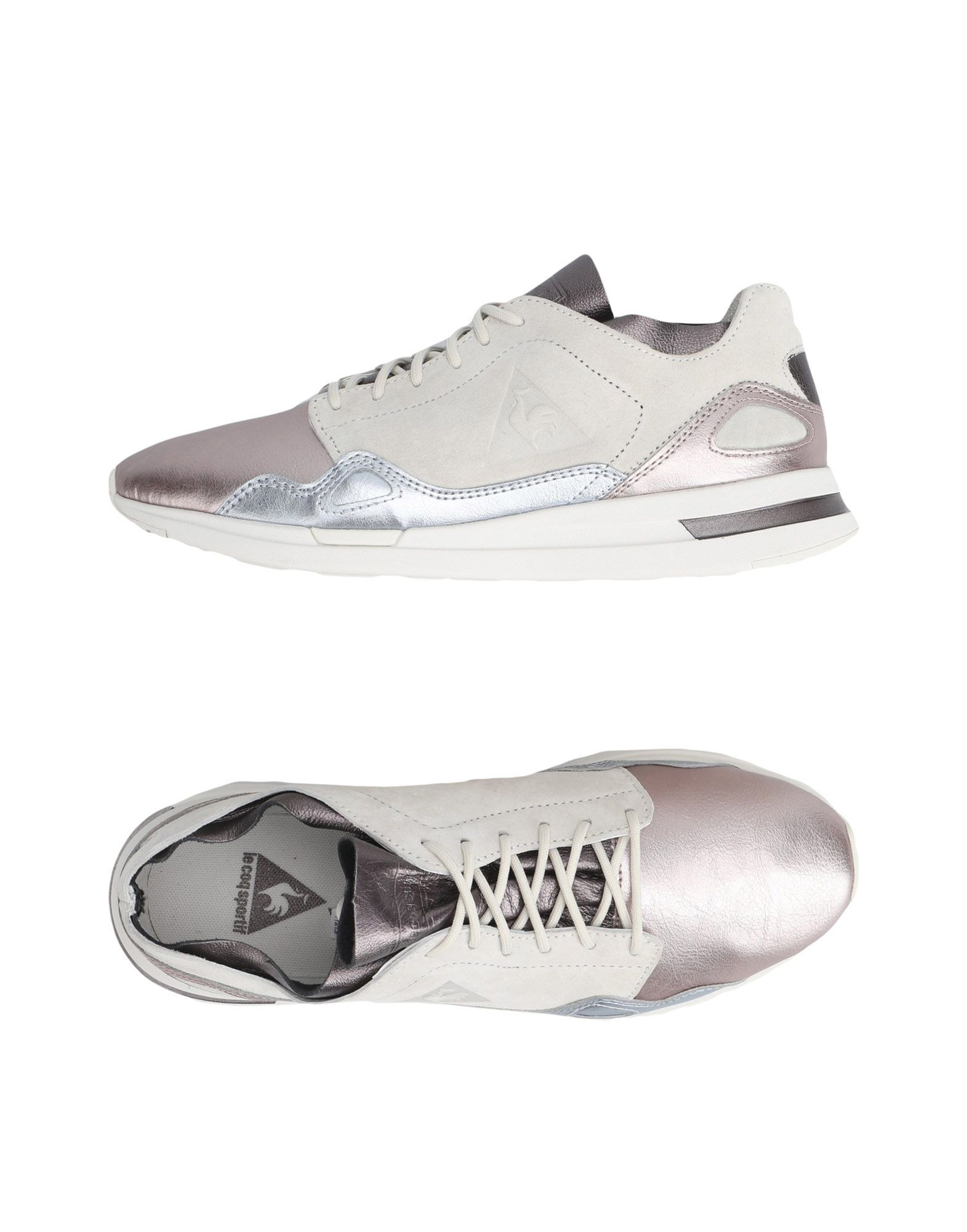 Sneakers Le Coq Sportif Lcs R Flow W Metallic Leather Mix - Donna - 11340715HI